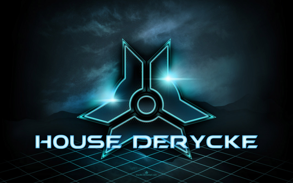 House logo of the Derycke family, inherited by Neria and Lilly's father, who had a small transportation company.