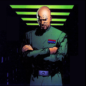 The enigmatic Dante Wehr was an Imperial Army major and an agent for Imperial Intelligence. He served as Emperor Charon's eyes and ears on the Hutt Council circa Year 3.[16]