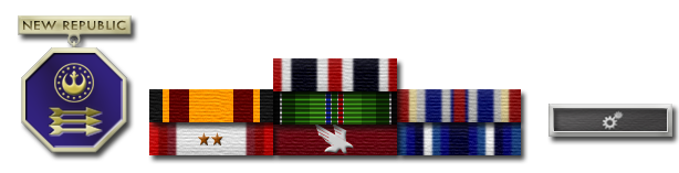 Lt. Traner's New Republic Awards and Commendations