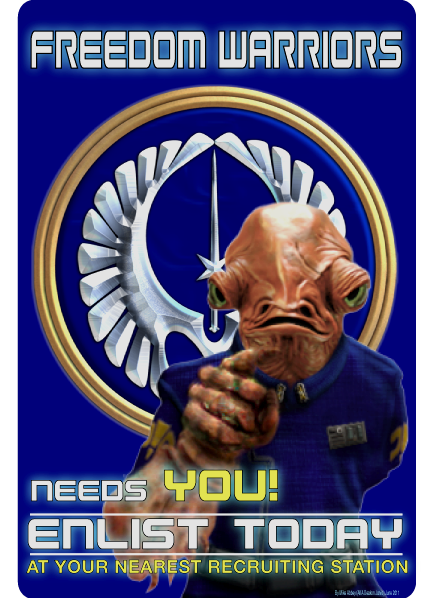 Freedom Warriors Recruitment poster.png