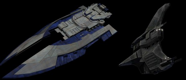 The Wraiths are known to use their unique Sabaoth Destroyer and Sabaoth Defender. The unique ships have been part of the Wraiths lineage for as long as any of its members have been around.