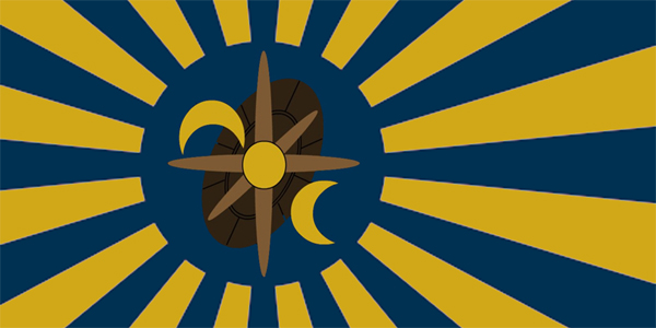 Anzatan Commonwealth Flag