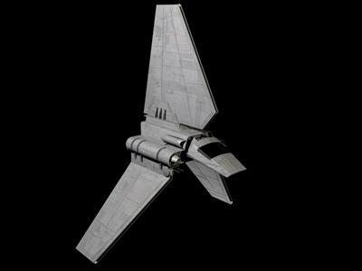 Lambda Shuttle Holocron Star Wars Combine