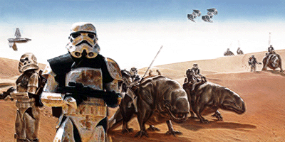 The uprising by Melukien Tar'Shakaar's Chimaera Order on Tatooine prompted an immediate military response by Charon's Galactic Empire circa Year 3 and resulted in Charon bequeathing the planet to the Hutts.