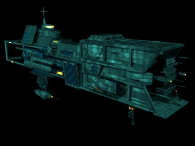 Lictor Class Dungeon Ship Holocron Star Wars Combine
